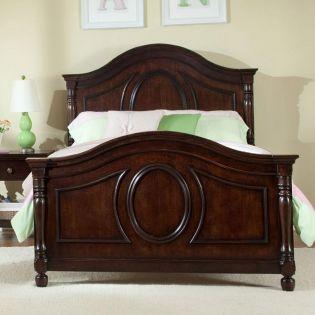 0851-4103 Savannah  Panel Twin Bed (침대) (매트 규격: 93cmx 193cm)