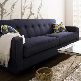 K520R-Navy  Sofa~Made in the USA~