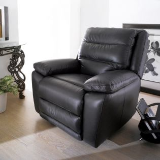 E604  Leather Recliner