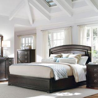 81125 Optum   King Panel Bed (침대+협탁+화장대)
