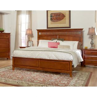 56-26 Simply Shaker Too  King Panel Bed ~한정판매~