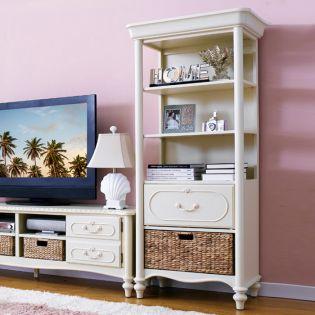 Wendy  Curio Cabinet w/ Basket