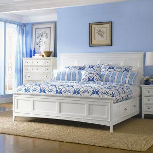 FR-B1475  Panel Storage Bed