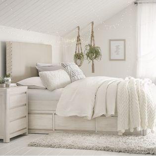 Indio 6811-4804K  Upholstered Full Bed (침대) (매트 규격: 134cmx 193cm)