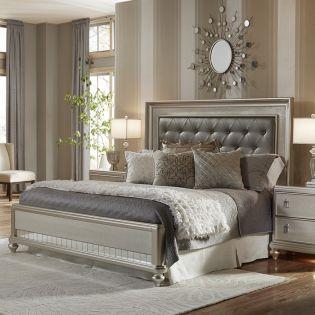 8808  Panel Queen Bed (침대+협탁+화장대)