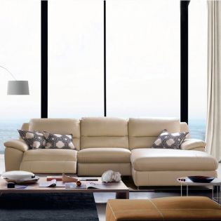 RS-10487  Power Leather Recliner Sofa~Right or Left 선택가능~ (천연가죽)
