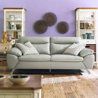 MU-10282-Marble  Leather Sofa