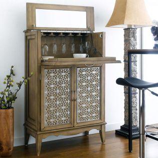 78689  2-Door Drop Lid Bar Cabinet
