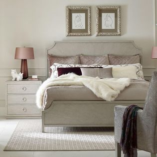 Cinema 7200-4105  Panel Bed (침대+협탁+화장대)