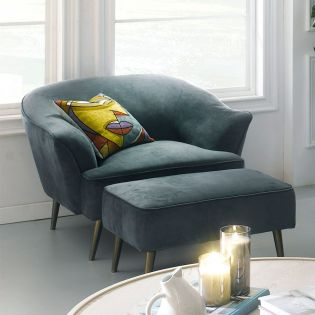 U4540-50-Marine Blue   Chair