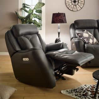 1721_54ph  Power Leather Recliner Chair