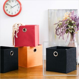 Deco Box-Black  Foldable Box