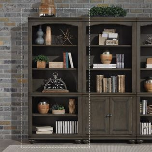 i07-333-PEP  Open Bookcase