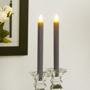 Brandon-Grey  LED Candle