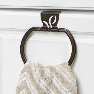 SPC-64324  Leaf Towel Ring