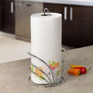 SPC-95470  Flower Towel Holder Chrome