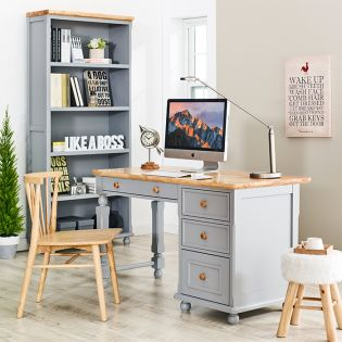 Tara-Grey-Desk  Wooden Desk