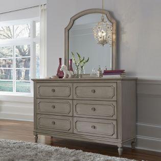 Emma 7870-1100  Mirror & Drawer Dresser