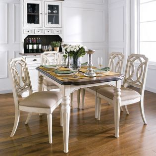 D7611-4 Dining Table
