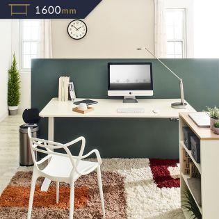 Oxford-006  Adjustable Motion Desk 커브형 1600mm