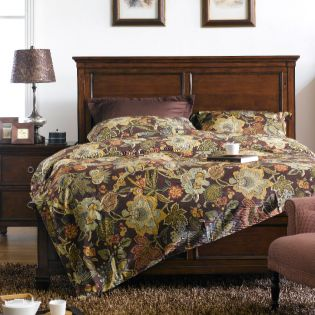 FR-Tamarack-Brown  Queen Panel Bed