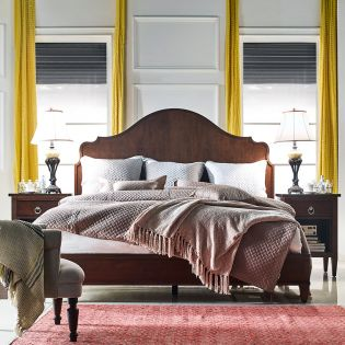 Kirby 241101-1W  Panel Bed(침대+협탁+화장대)