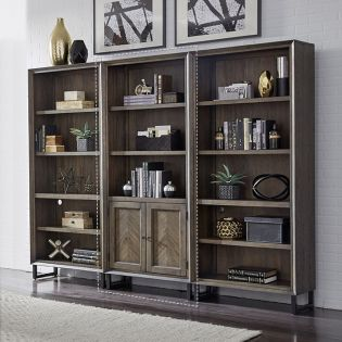 IHP-332-FSL  Door Bookcase
