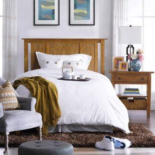 Y3613-64H-HB   Super Single Panel Bed (침대) (매트 규격: 110cmx 200cm)