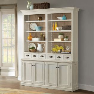 444 Juniper China   Cabinet w/ Hutch