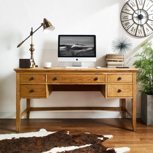 H3613-01  Wood Writing Desk