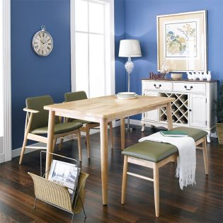 Tores-4 Dining Set  (1 Table + 2 Chairs + 1 Bench)