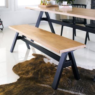 Florence-XL  Wooden Bench