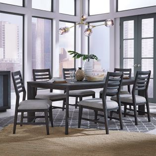 D4995-6  Dining Set (1 Table + 6 Chairs)