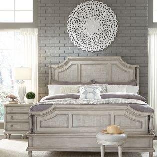 P12316  Campbell Street Bed  (침대+협탁+화장대)