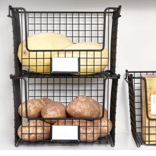 91007ES  Stackable Basket-L