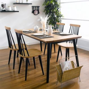Browny-4  Dining Table