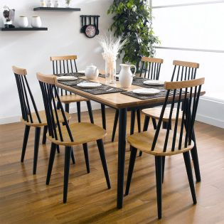 Browny-6  Dining Table