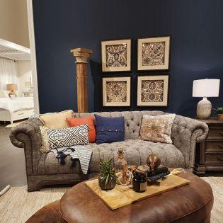 U4381-20  Graphite Sofa