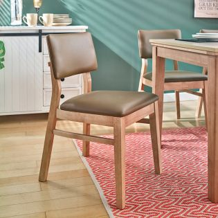 Cheavy-Natural  Wooden Chair