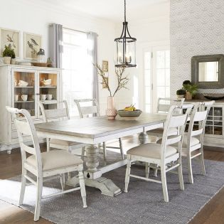 661W-6 Dining Set(1 Table + 6 Chairs)