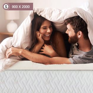 Memory Foam-7-900  Single Mattress Topper
