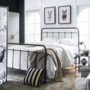 DS-2645-290  Queen Metal Bed