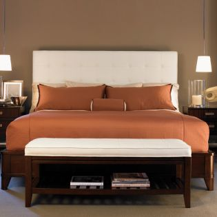 Zacara  Fabric Panel Bed (침대 Only)