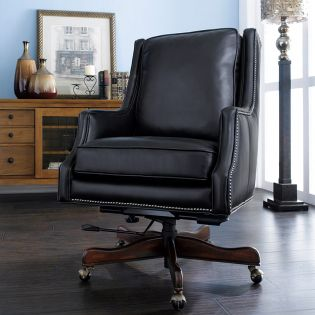 EC374-099  Leather Chair