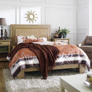North Shore-Woven  Panel Bed (침대+협탁+화장대)