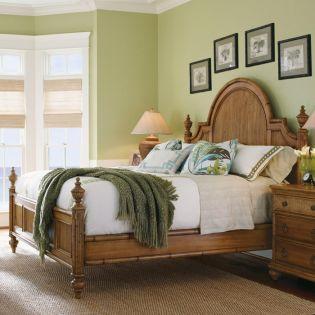 Beach House  Panel Bed (침대+협탁+화장대)
