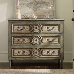 5145-85001  Handpainted Three Drawer Chest
