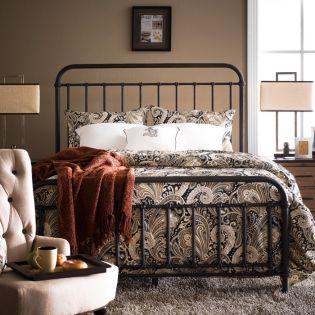 B2111-55 Shady Grove  Metal King Panel Bed ~35조 한정판매~
