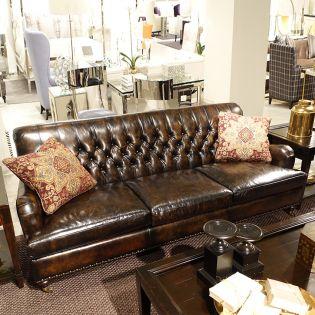 2367LO  Kemp Leathrer Sofa