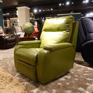 1228-500P  Power Recliner ~Blue Steel~